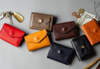 一見シンプルでも使いやすさは抜群。「藤巻百貨店」のコンパクト財布