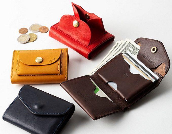シンプルで使いやすい「池之端銀革店」の「Cramp」シリーズの財布