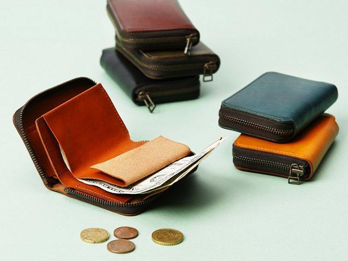 シンプルで使いやすい「m+(エムピウ)」のミニ財布