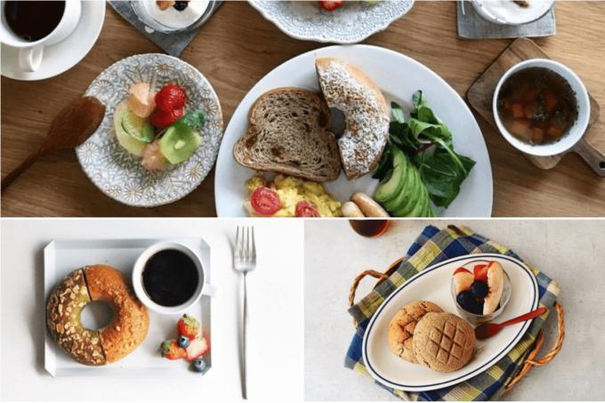代官山にお店を構えるパン屋「フスボン」のメニュー例
