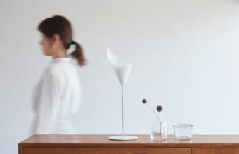 和紙で香りを楽しむ新感覚のインテリア。「GOKANKAKU」のアロマディフューザー