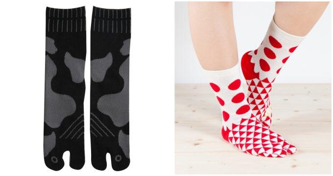 「京東都(きょうとうと)」の猫の柄の足袋ソックス2