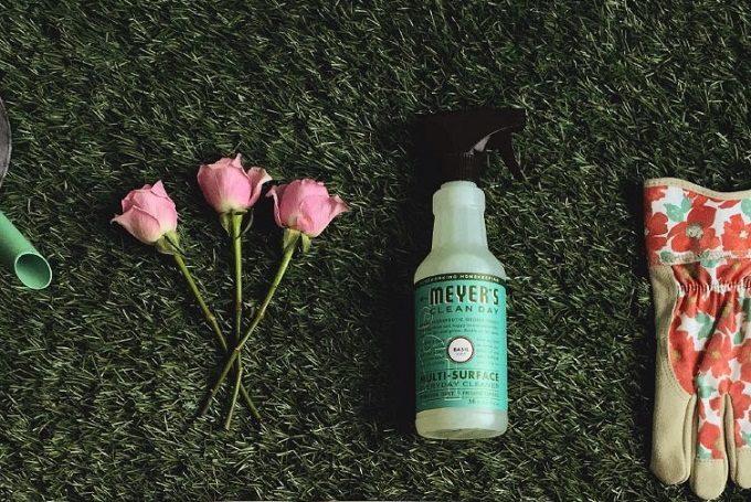 大掃除におすすめ、香りのよい「ミセスマイヤーズ クリーンデイ」の洗剤