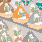 まるっとした癒し系フォルムが愛らしい!韓国発の猫絵本...