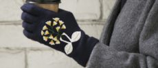 繊細な刺繍が魅力の「STYLE STORE×安原ちひろさん」の大人可愛い手袋