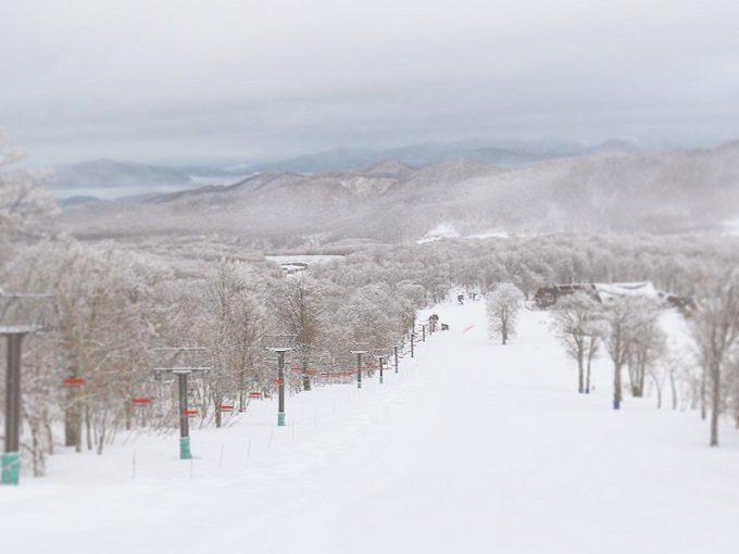 たんばらスキーパークの景色