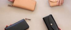 簡単にカバーを付け替えられる「uとto」の革財布
