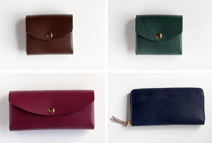 簡単にカバーを付け替えられる「uとto」の革財布のラインナップ