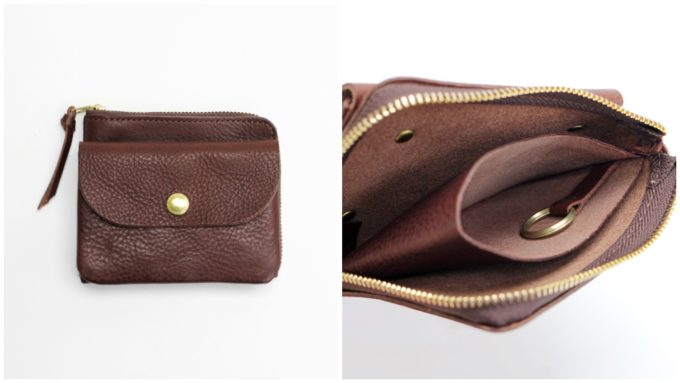 便利で大人っぽい「CINQ サンク」のコンパクト財布