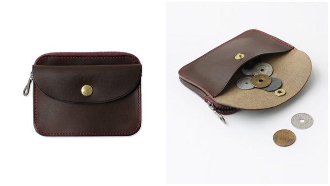 便利で大人っぽい「ARTS&CRAFTS アーツアンドクラフツ」の茶色いコンパクト財布