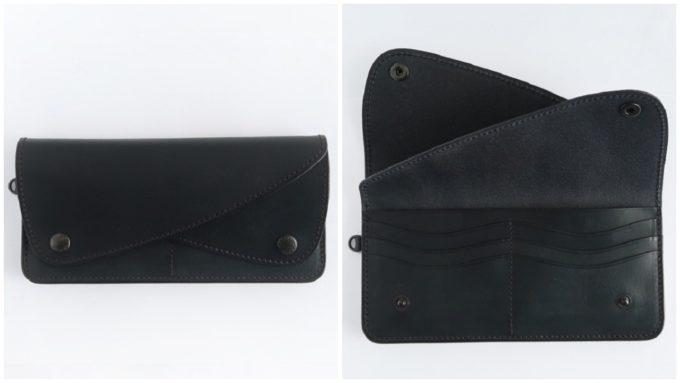大人の女性におすすめな「ARTS&CRAFTS アーツアンドクラフツ」の黒の長財布