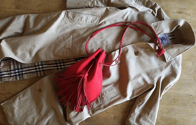 大人女子におすすめの「Chiihao」の革のショルダーバッグ、コーディネート例