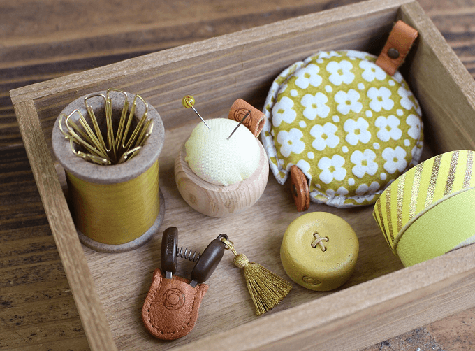 「Cohana(コハナ)」のかわいい裁縫道具