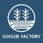 生姜専門店「GINGER FACTORY」のロゴ