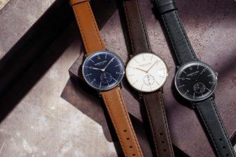 どんな服装も上品に仕上げる。「KENNETH COLE」のクラシカルな腕時計