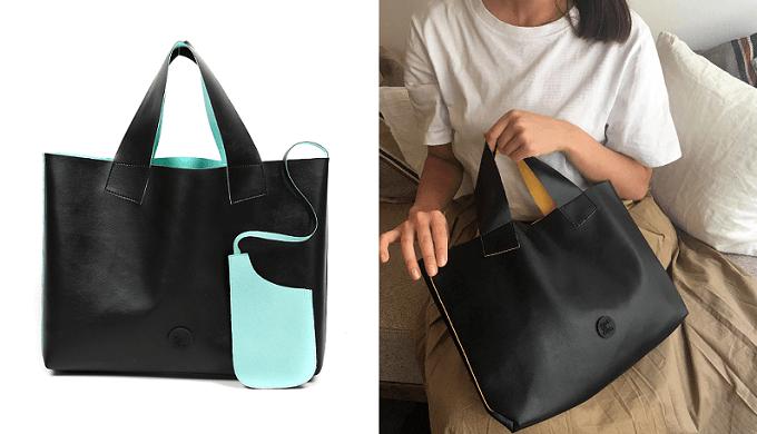 毎日持ち歩きたい「made on earth」の超軽量バッグ、トートバッグ