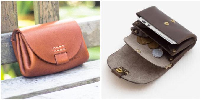 おしゃれで使いやすい「Duram Factory」のコンパクトな革財布