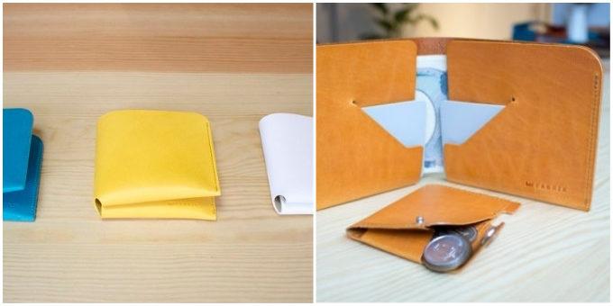 おしゃれで使いやすい「FABRIK」のコンパクトな革財布