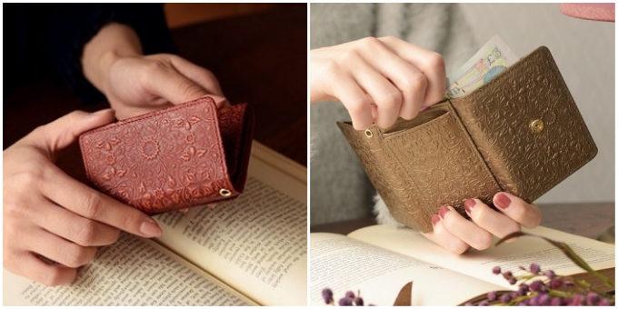 おしゃれで使いやすい「HIRAMEKI.」のコンパクトな革財布