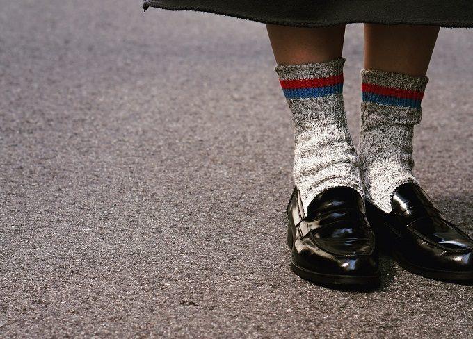 「mauna kea(マウナ・ケア)」の靴下のコーディネート例