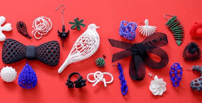 3Dプリントで作られた「monocircus(モノサーカス)」の様々なアイテム1