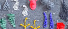 3Dプリントで作った「monocircus(モノサーカス)」のイヤーアクセサリー
