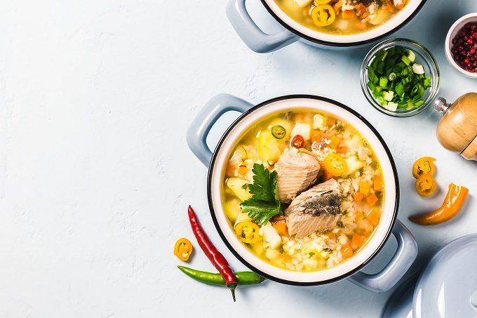 簡単レシピ集、塩鮭のキャベツのバター蒸し