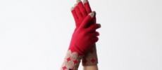 大人女子におすすめの「%」のおしゃれな手袋