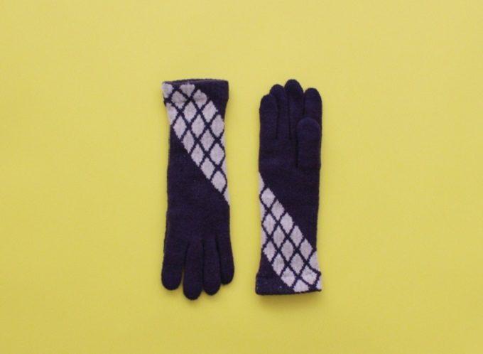 大人女子におすすめの「%」のおしゃれな柄の手袋1
