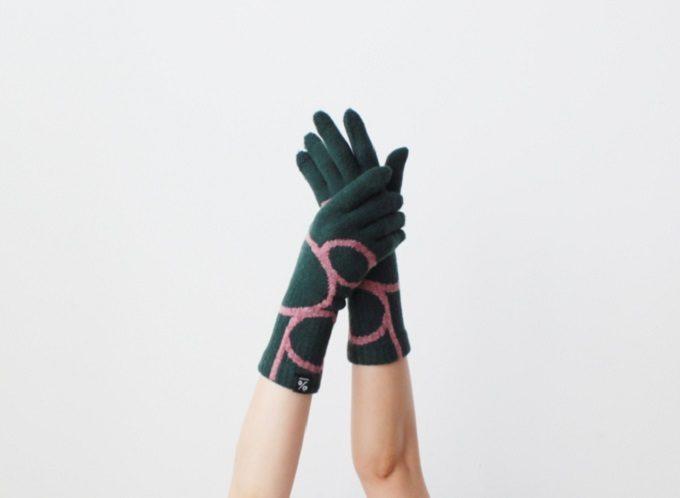 大人女子におすすめの「%」のおしゃれな柄の手袋2