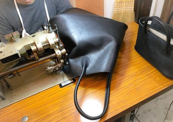 「SHOJIFUJITA(ショウジフジタ)」の革製品製造工程