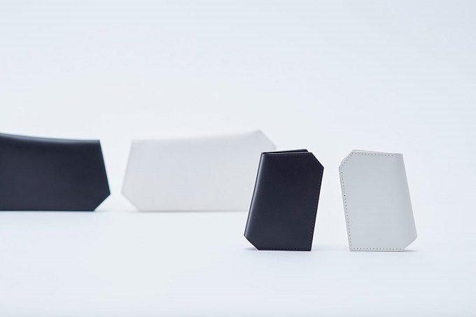 持ちやすく使いやすい「SHOJIFUJITA(ショウジフジタ)」の六角形の革のミニ財布2