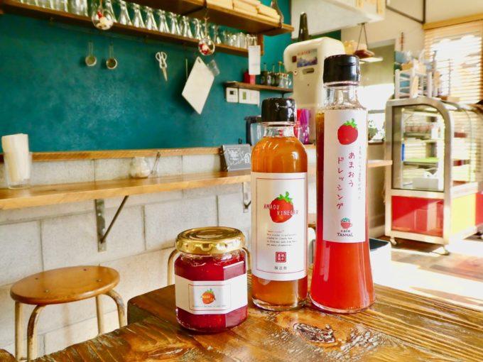 糸島にある「あまおう」農家直営のいちご専門カフェ「いちごや cafe TANNAL」のおすすめのお土産