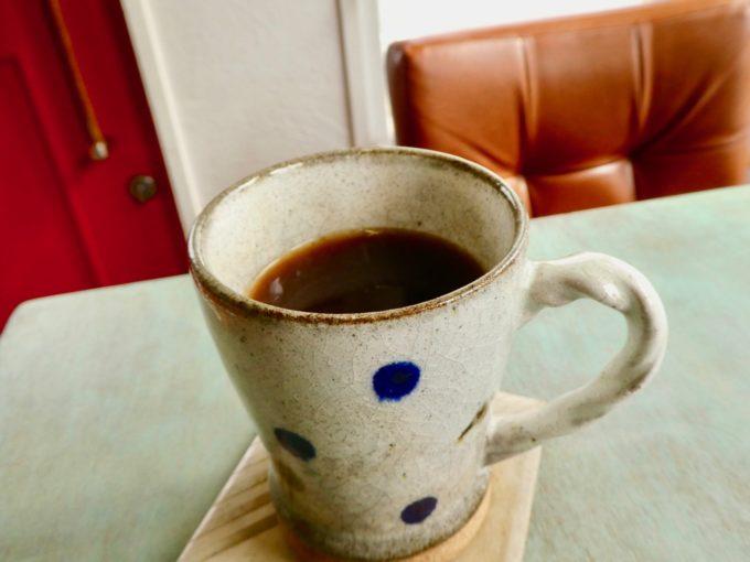 島にある「あまおう」農家直営のいちご専門カフェ「いちごや cafe TANNAL」のおすすめメニュー、コーヒー