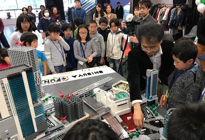 「渋谷の街をレゴ®ロックでつくろう」イベントの様子2