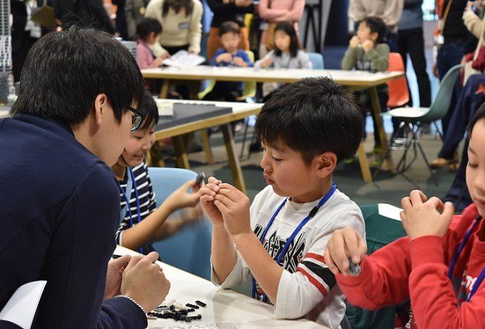 「渋谷の街をレゴ®ロックでつくろう」イベントの様子3