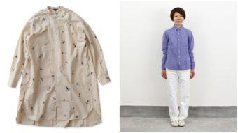 どんなスタイルにも合わせやすい。長そでシャツ選びはベーシックとトレンド感にこだわって