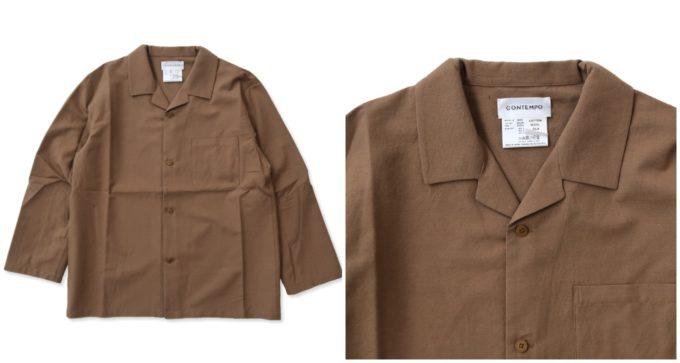 大人女子におすすめ、「YAECA ヤエカ」の長袖シャツ