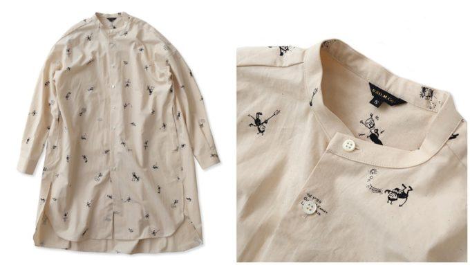 大人女子におすすめ、「OLDMANS TAILOR オールドマンズテーラー」の長袖シャツ