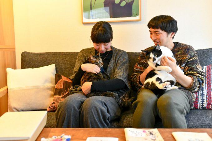 絵本作家・PEIACO(ぺいあこ)とその愛猫