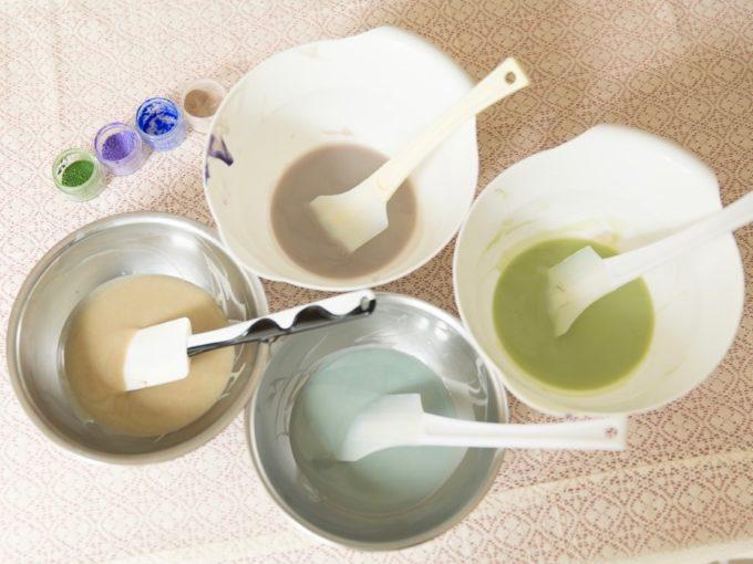 手作り石けん教室「Ciao*soap」の石鹸の材料