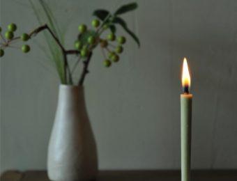 火の恵みを感じる暮らしに。「大與(だいよ)」の美しい和ろうそく