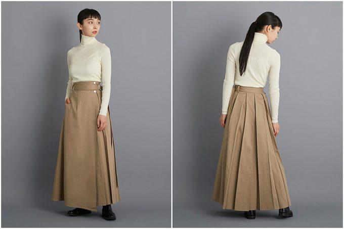 大人女子におすすめ「foufou(フーフー)」のロングスカート