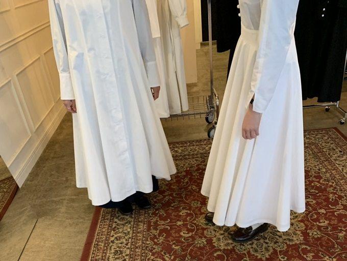 ファッションブランド「foufou(フーフー)」の試着会の様子