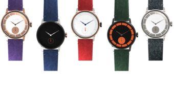 6つのパーツを好きなカラーや素材にカスタマイズ。北欧発の腕時計「LAB」