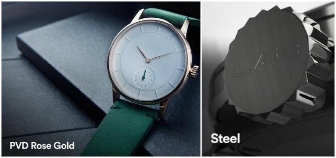 さまざまなパーツをカスタマイズできる北欧発の腕時計「LAB(ラボ)」の文字盤の枠のバリエーション