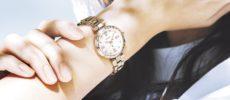 セイコー「LUKIA」の新色ソーラー電波腕時計の着画1