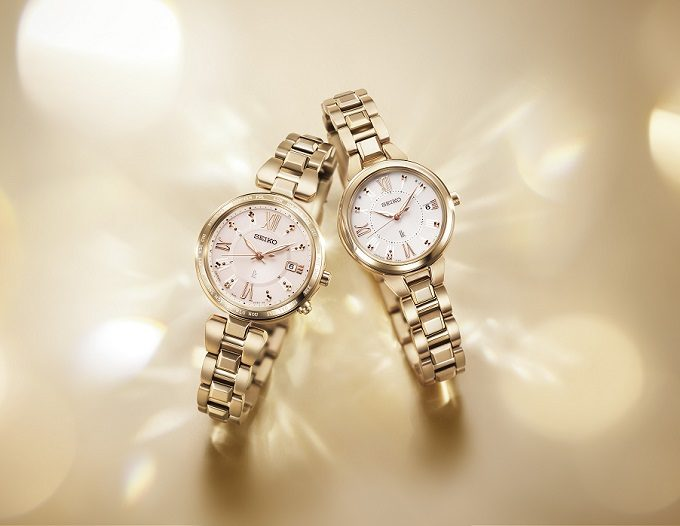 セイコー「LUKIA」の新色ソーラー電波腕時計