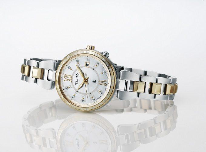 セイコー「LUKIA」のソーラー電波腕時計、限定モデル