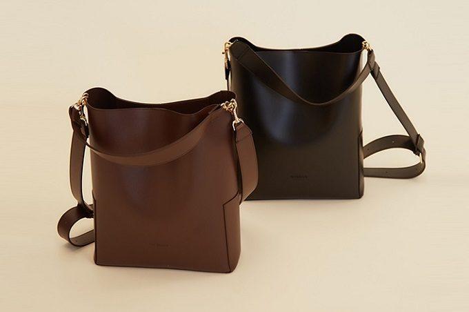 シンプルで上品な「RANDEBOO(ランデブー)」のトートバッグ「bucket bag」